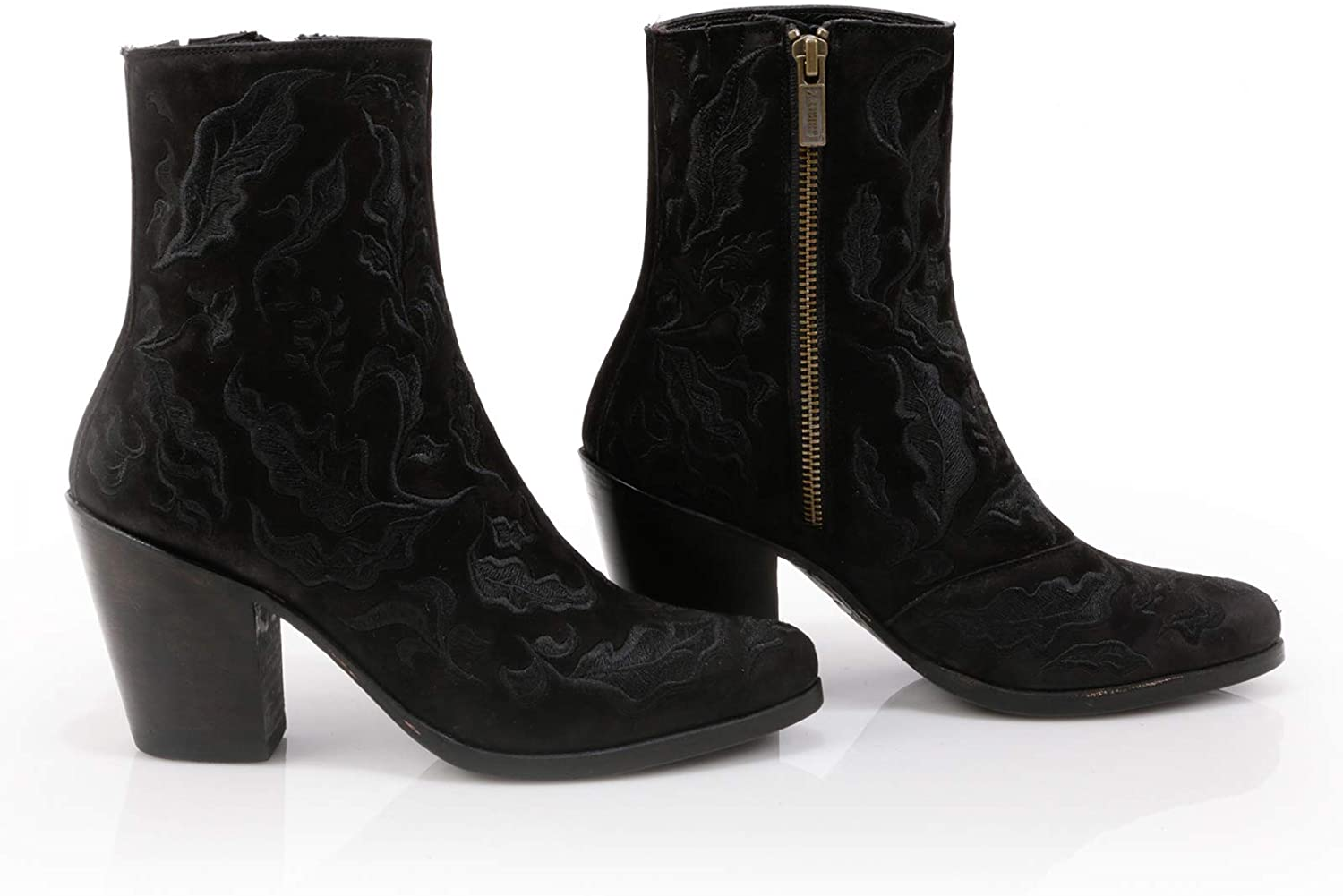 LIBERTY BLACK Aria Embroidered Women´s Ankle Boot Black 7 US
