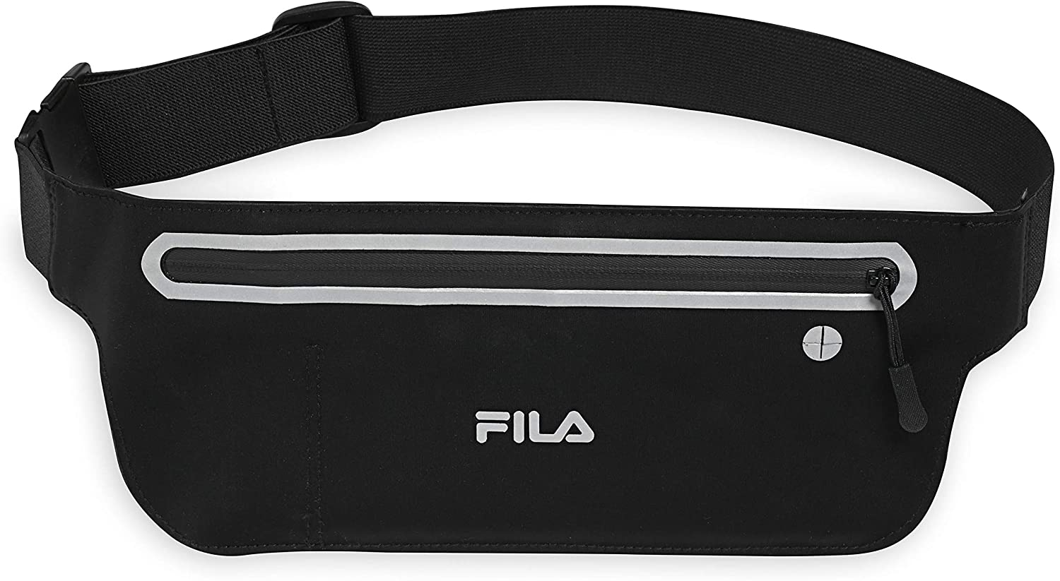 FILA Accessories Waist Pack - Running Belt Fanny Pack | Dash Adjustable Sports Pouch Phone Holder for Women & Men | Running, Walking, Cycling, Exercise & Fitness