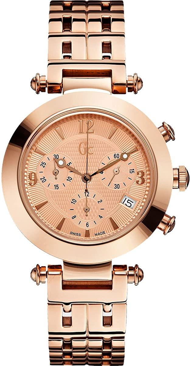 GUESS Men's GC Primera Class Rose Gold-Tone Timepiece
