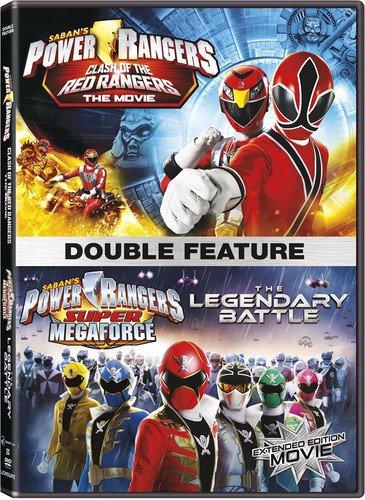 Power Rangers: Clash Of The Red Rangers / The Legendary Battle  [DVD]