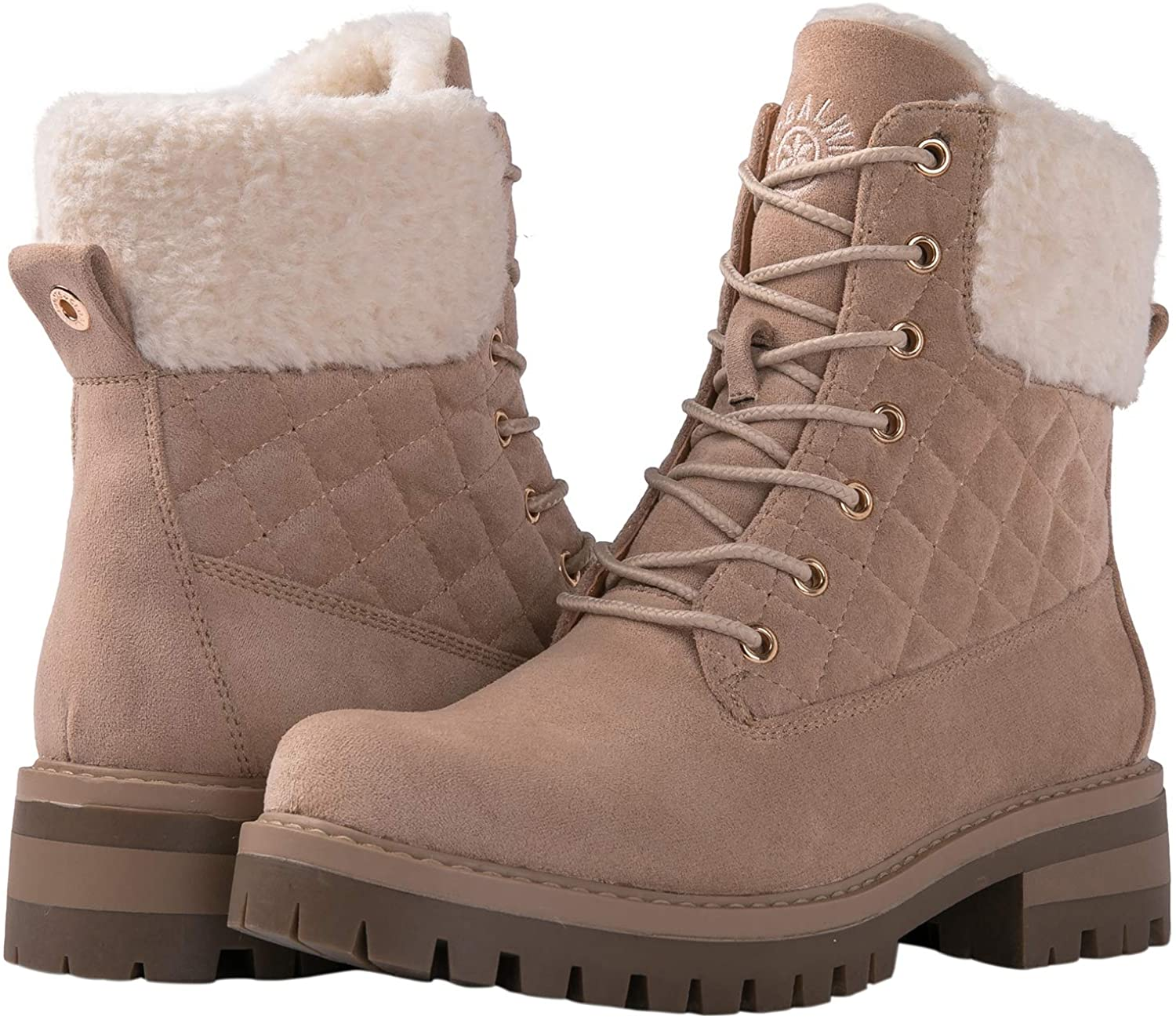 GLOBALWIN Women's The Quilted Winter Classic Boots