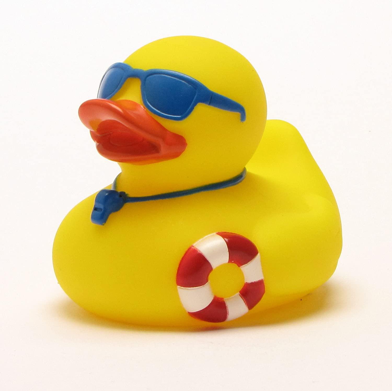Rubber Duck - Bath Duck - Lifeguard