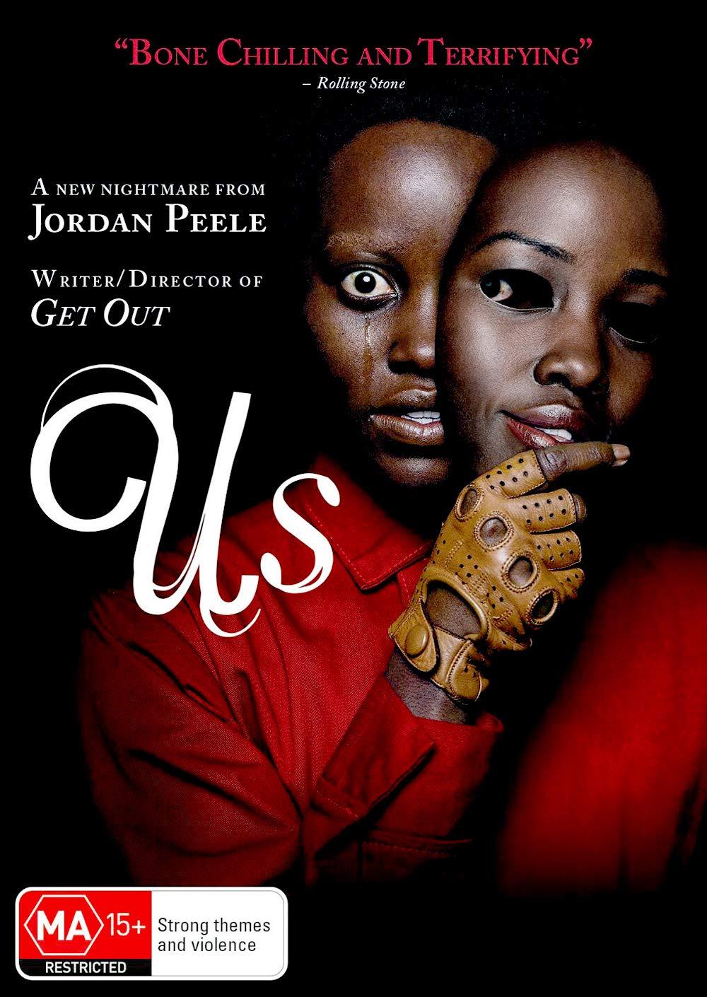 Us DVD   Lupita Nyong'o, Elizabeth Moss   Region 4