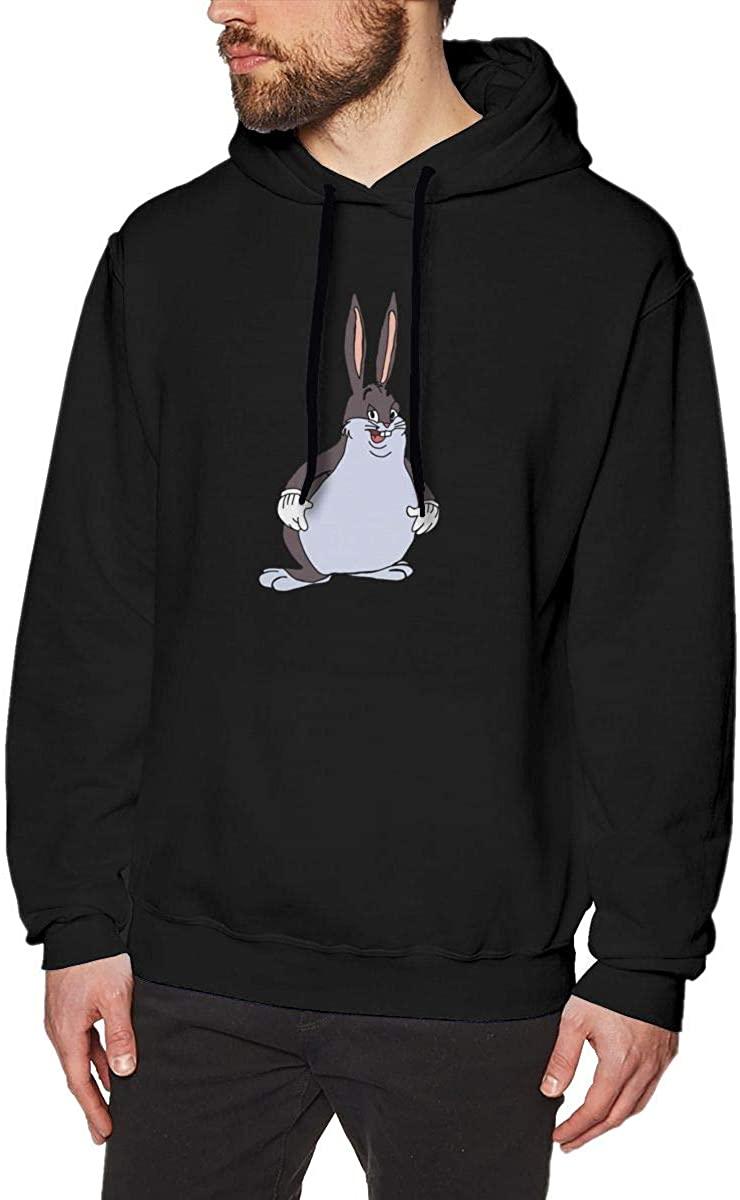 AP.Room Big Cute Chungus Adult Men's Fashion Sweater Long Sleeves Hoodies for Autumn Ocketless