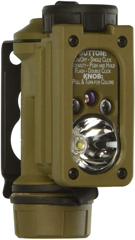 Streamlight 14516 Sidewinder Compact II Military Model Multi-Battery Multi-Source Hands-Free Flashlight - 47 Lumens