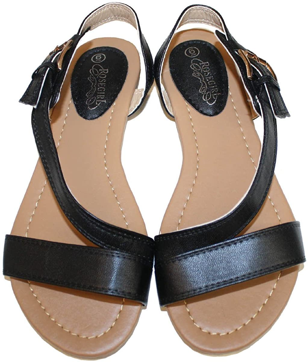 Womens Summer Gladiator Sandals Flats FashionThongs T Straps Ladies Shoes