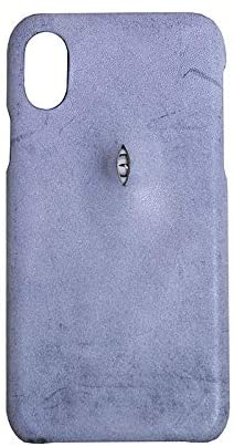 DHSJ Compatible with iPhone 11 Case, Handmade Wax Cow Hide One Eye Blue iPhone 11 Pro Cases Cover for iPhone 11/11 Pro / 11 Pro Max and Many Other Models (Color : for iPhone xr)
