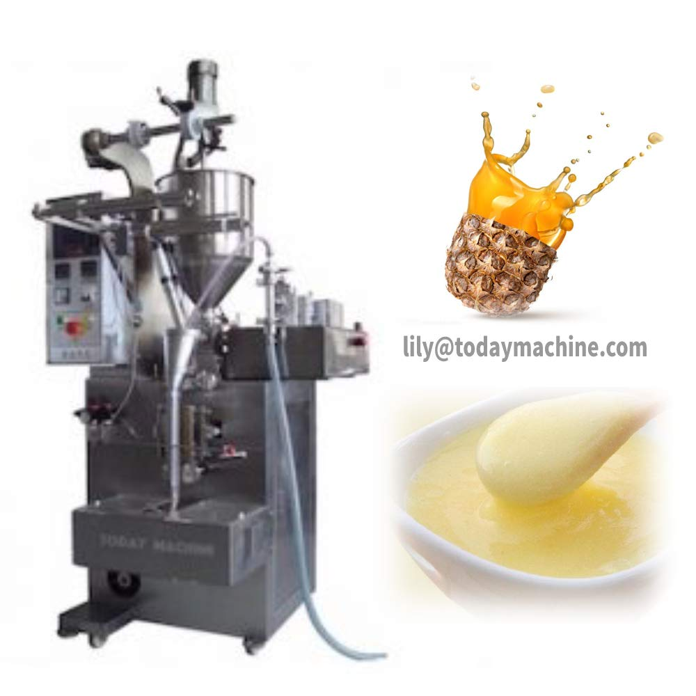 CBD Automatic spout Pouch Liquid Paste Filling Sealing Capping Packaging Machine
