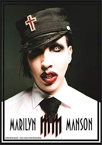 Marilyn Manson Uniform Official Textile Flag Poster