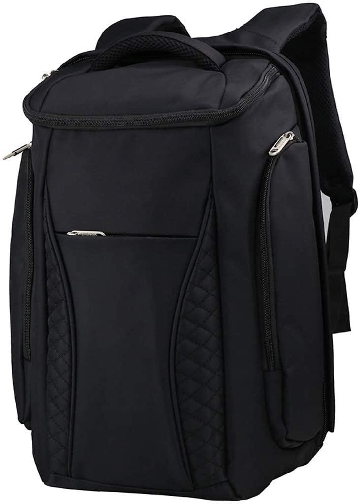 Backpacks- Waterproof Hiking Backpack Oxford Cloth Large Capacity Sport Camping Travel Trekking Rucksacks Pack Mountaineering Climbing Knapsack (Color : Black, Size : 463118cm)