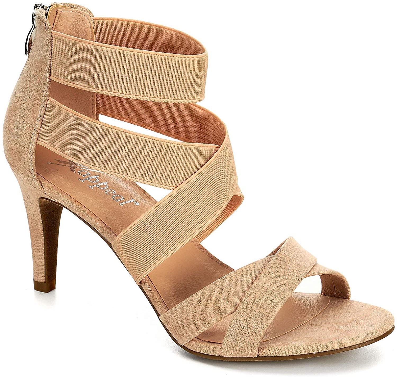 XAPPEAL Womens Elke High Heel Sandal Shoes,