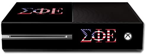 MightySkins Compatible with Microsoft Xbox One - Sigma Pi Epsilon Americana | Protective, Durable, and Unique Vinyl Decal Wrap/Decal | Device NOT Included - This is A Skin| Made in The USA