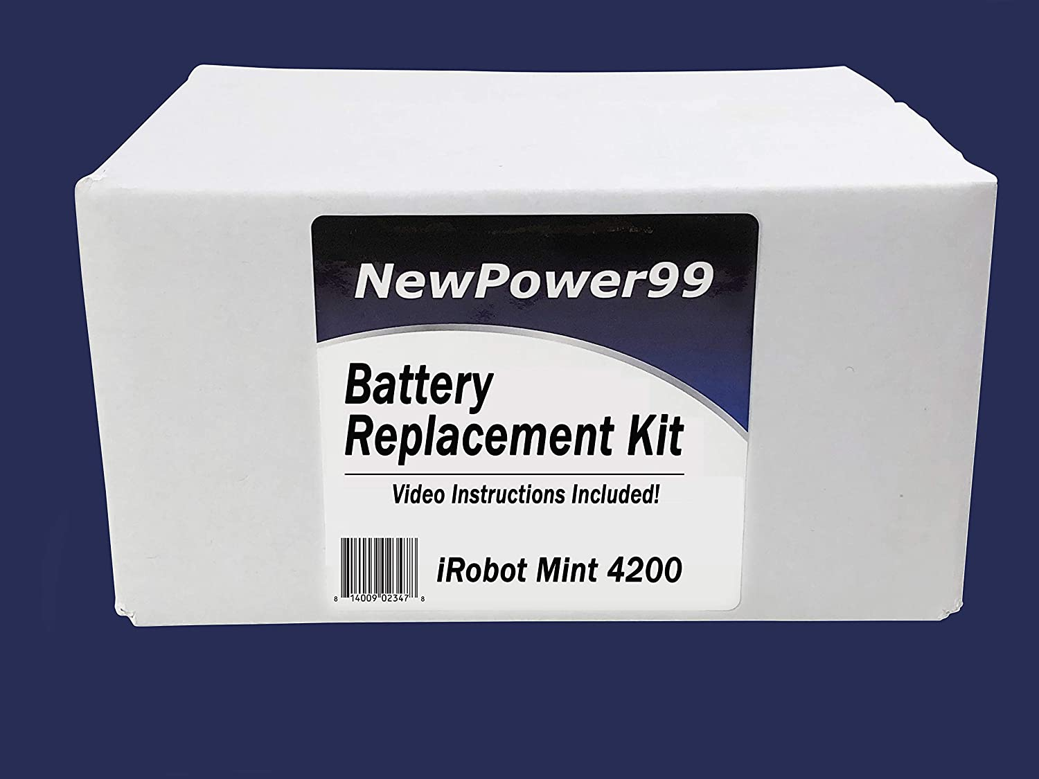 Battery Kit for IRobot Mint 4200 with Video Instructions and Battery from NewPower99