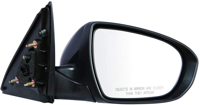 KarParts360: For 2014 2015 KIA OPTIMA Door Mirror - Passenger Side (Unpainted) - Power, Heated, With Signal Indicator, Non-Folding, Manual Folding, Folding KI1321175