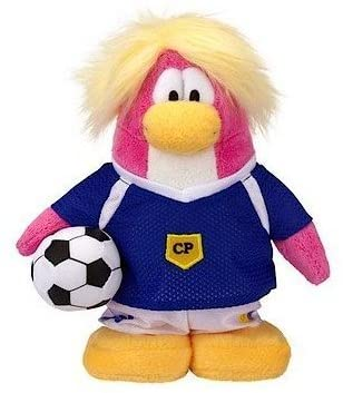 Club Penguin Save $6.00 - Value Deal on Rare Soccer Girl 6.5