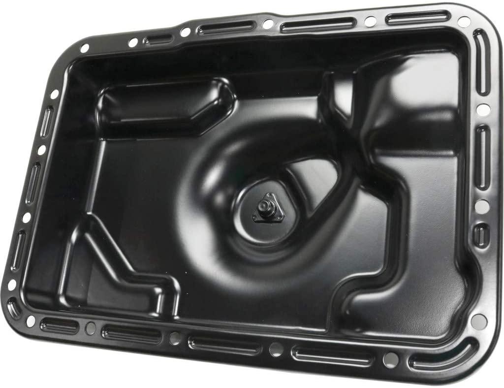 For Ford Ranger Transmission Pan 1985-2007 | 18 Bolt Holes | Black | Steel | Material | F69Z7A194BA