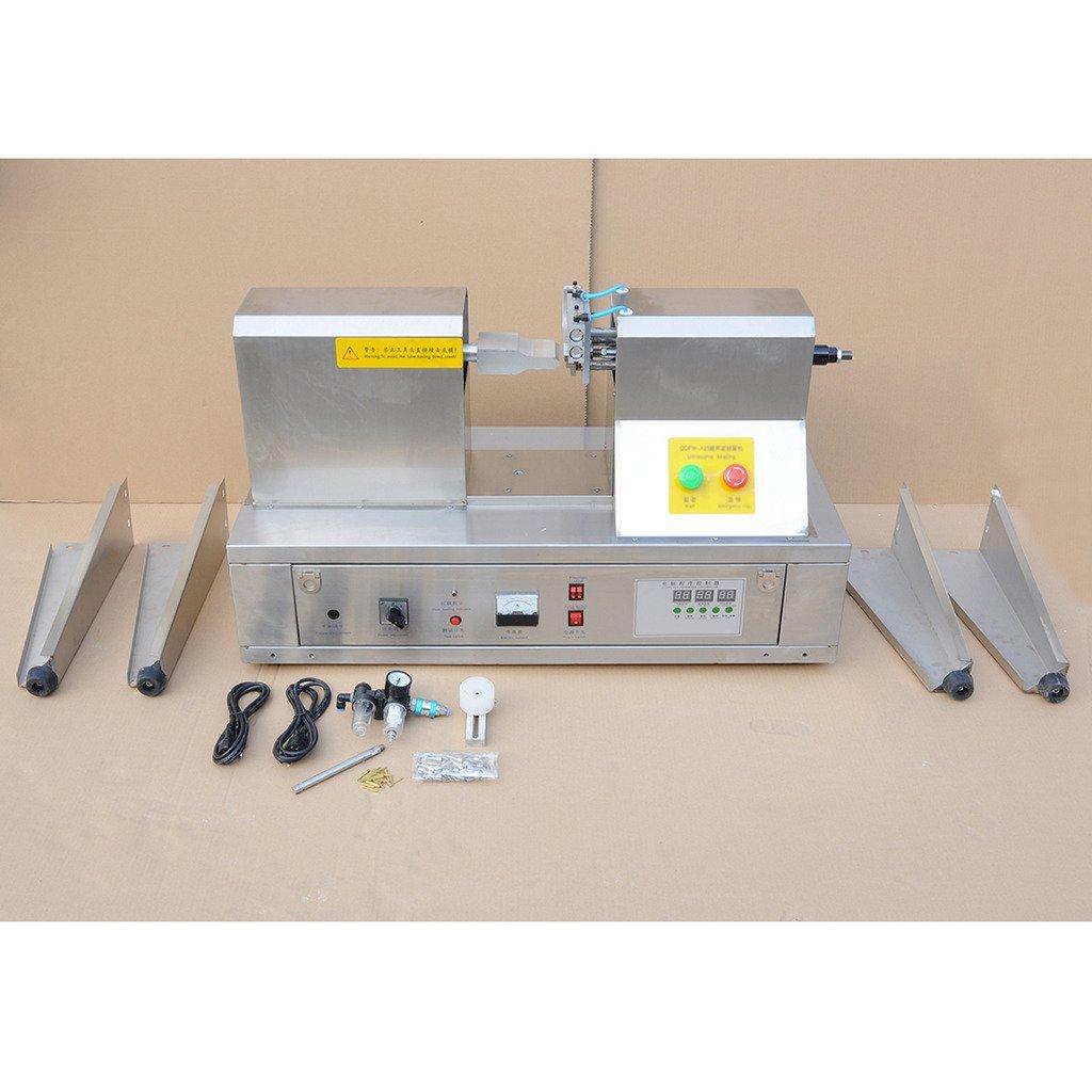 Rhegeneshop Cosmetic Chemical Cream Tube End Sealing Sealer Machine Date Printing 110V