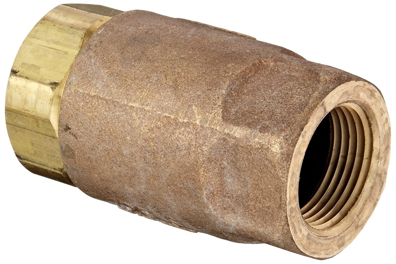 Dixon 61-105 Brass Ball Cone Check Valve, 1