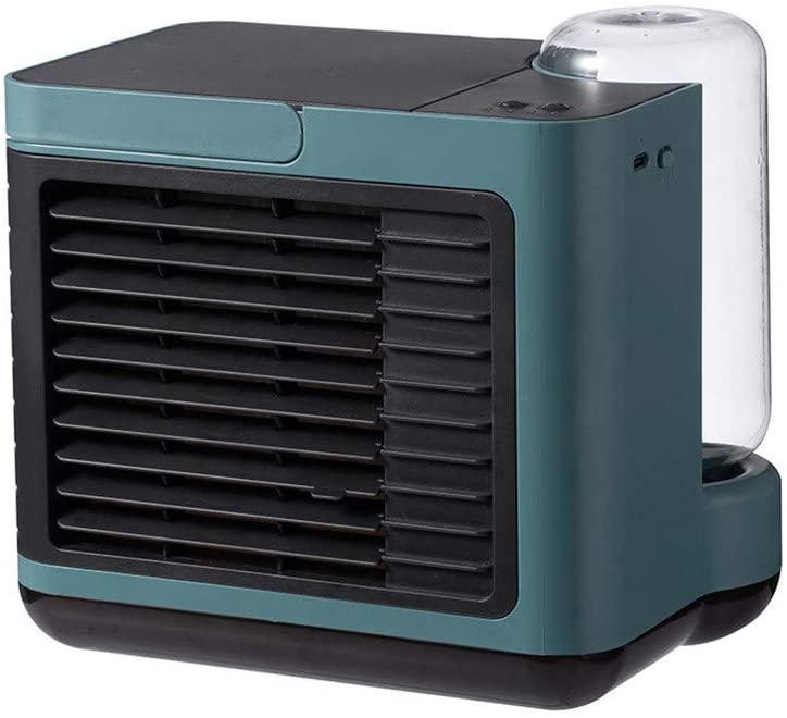 Gowersdee New USB Charging Mini Portable Air Conditioning Fan Home Refrigerator Cooler for Room Evaporative Personal Air Cooler Portable Air Cooler