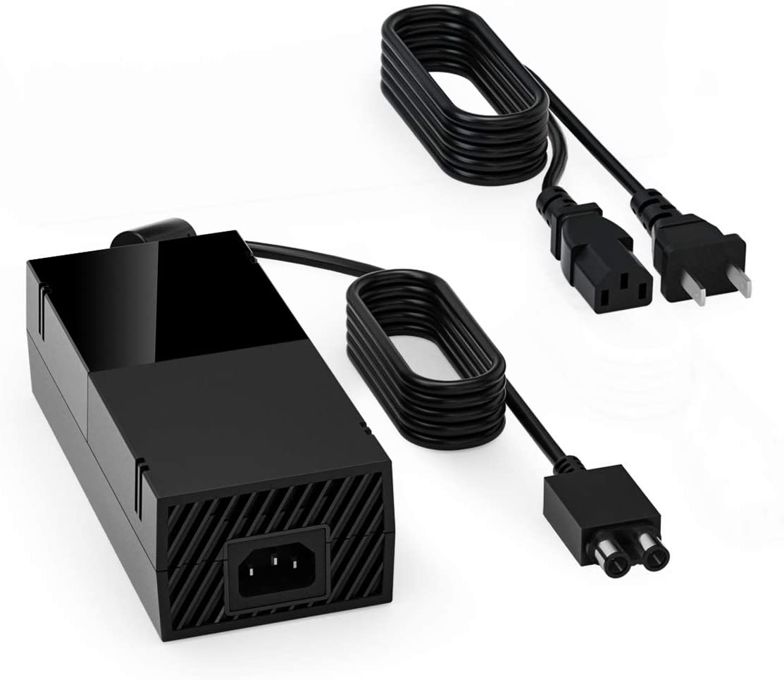 Power Brick Supply for Xbox One, Replacement Power Cord Accessory 100-240V AC Adapter Power Charger Box for Xbox One