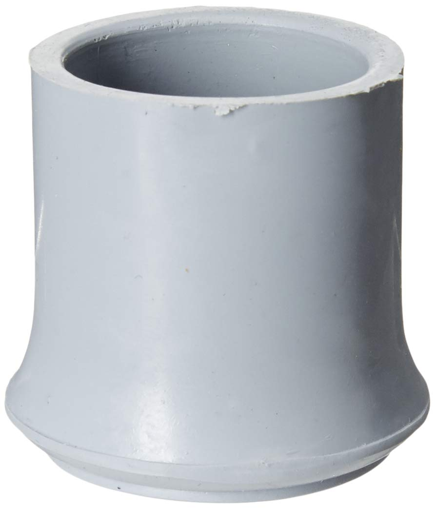 Lumex 9020 Aluminum Cane Replacement Tip, Fits 3/4 Tubing, gray