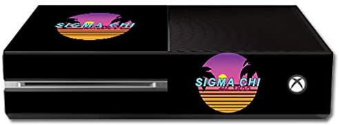 MightySkins Compatible with Microsoft Xbox One - Sigma Chi Radical | Protective, Durable, and Unique Vinyl Decal Wrap/Decal | Device NOT Included - This is A Skin| Made in The USA