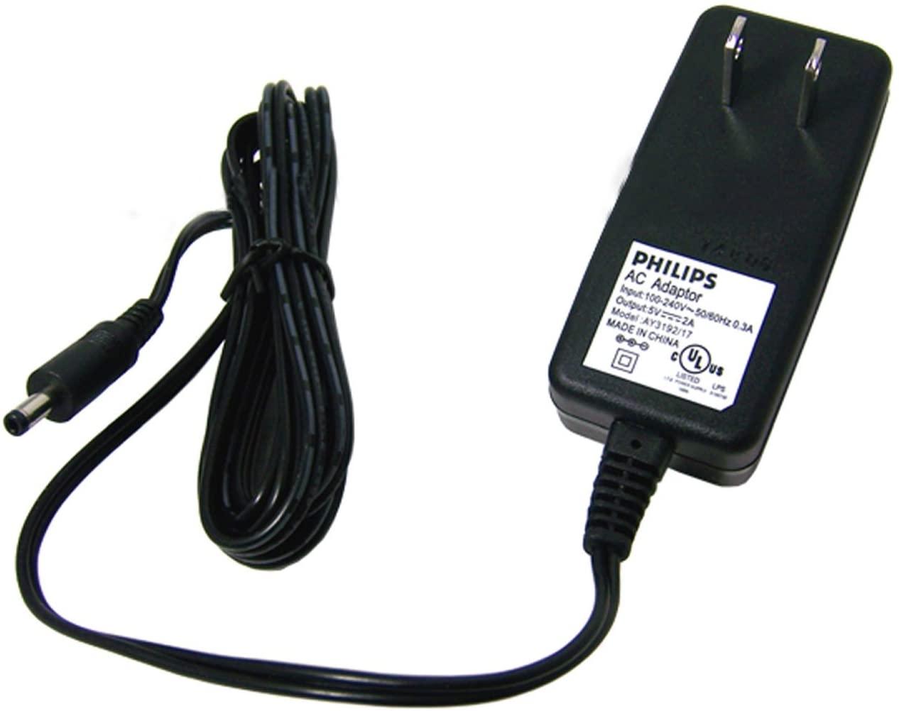 PHILIPS AY3192/17 DC 5v 2a AC Adaptor 314011833821 100-240v - 50-60Hz Adapter