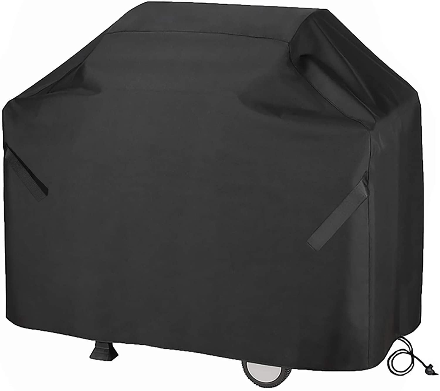 Szblnsm Grill Cover, 58-Inch Waterproof BBQ Cover, 600D Heavy Duty Tear-Resistant Gas Grill Cover for Most Brands of Grill