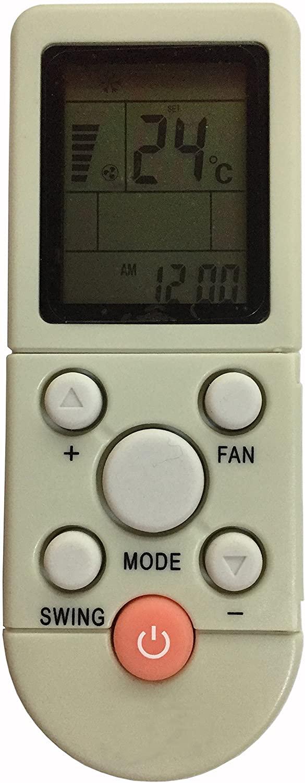 Meide YK-F/001 YKR-F/001 AC Air Conditioner Remote Control For AUX Air Conditioning YKR-F/006 YKR-F/06 YKR-F/09 YKR-F/010 YK-F/010 YKR-F/001 YKR-/006 YKR-/09R09E NO HEAT FUNCTION