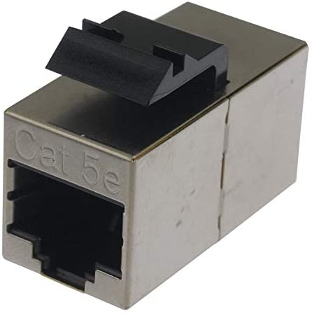 2111122-1 - In-Line Adapter, RJ45, RJ45, Adapter, In-Line, SL Series, Jack, 8 Positions, (Pack of 2)
