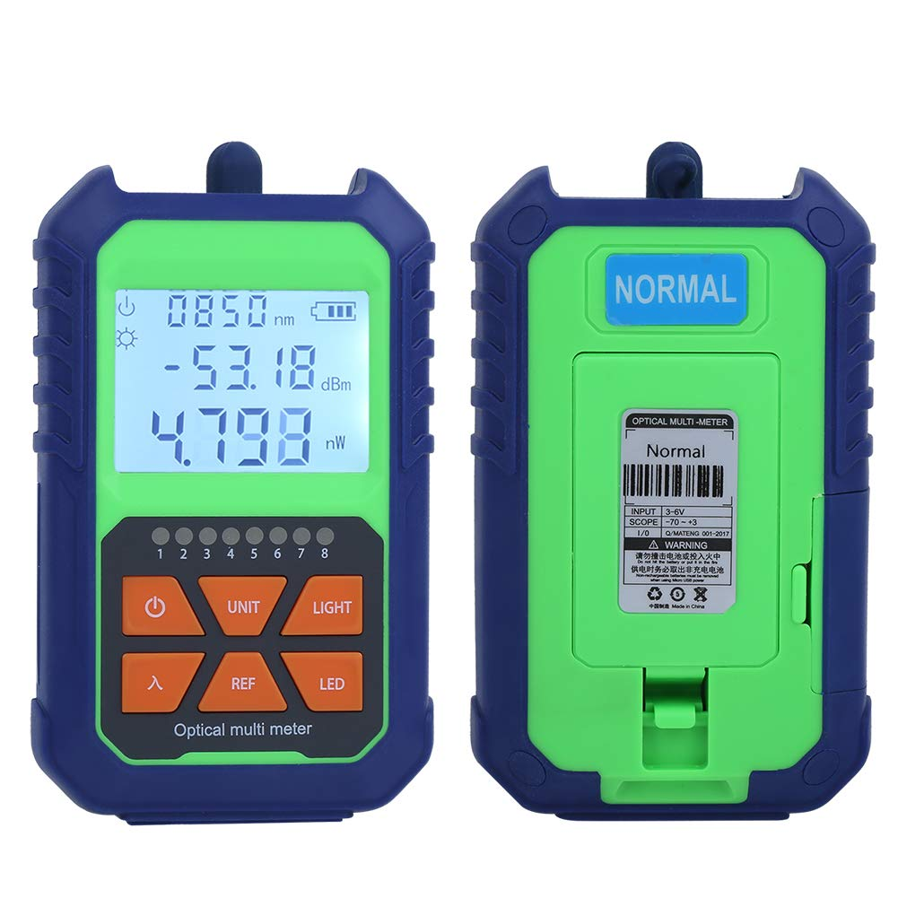 Accurately Identify Reliable Engineering Plastic Light Source Meter, Portable Cable Tester, for Cable Test Fiber Light Attenuation Test
