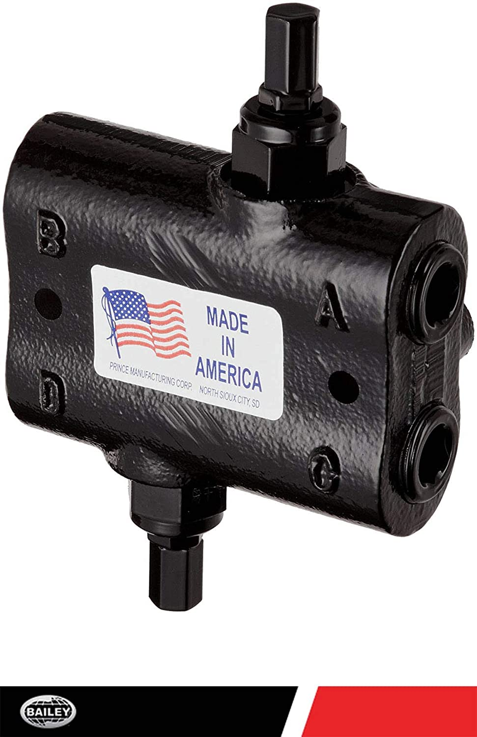 Prince Double Relief Cushion Valve: No. DRV-2HH30,Max 30 GPM 1500-3000 PSI Adjustable Range and Max PSI Upto 3000 with 3/4