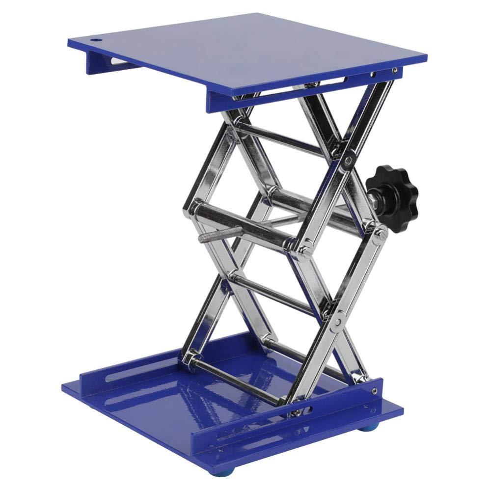 Scientific Lab Laboratory Scissor Jack, Aluminum Oxide Lab Lifting Platform Stand Rack Scissor Lab-Lift Lifter, 200200280mm