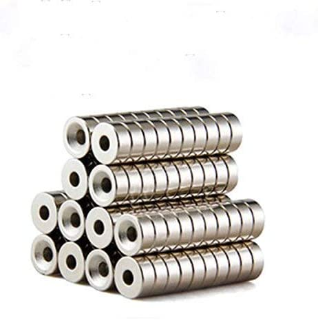 Magnets 12mm D Disc Countersunk Permanent Magnet Fastener 12mmX5mm
