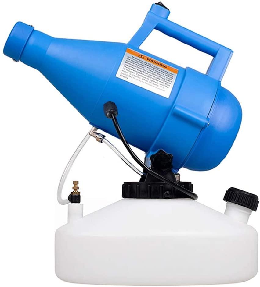 LONYEON 4.5L Electric Ulv Fogger Sprayer Machine,8-10 Meters Sprayer Area Ultra-Low Capacity Atomizer Machine Suitable for Indoor Outdoor Garden Hotel Station School