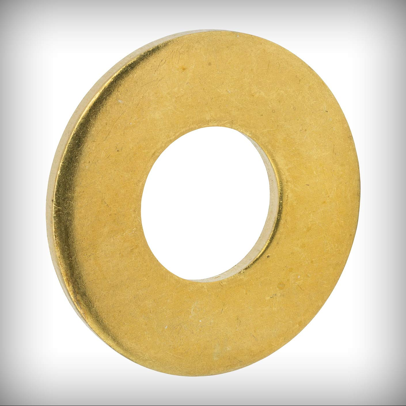 New Lot of 500 Pcs #12 Flat Solid Brass Flat Washers Commercial Standard Grade 360 Set #Lig-0982NG Warranity by Pr-Mch