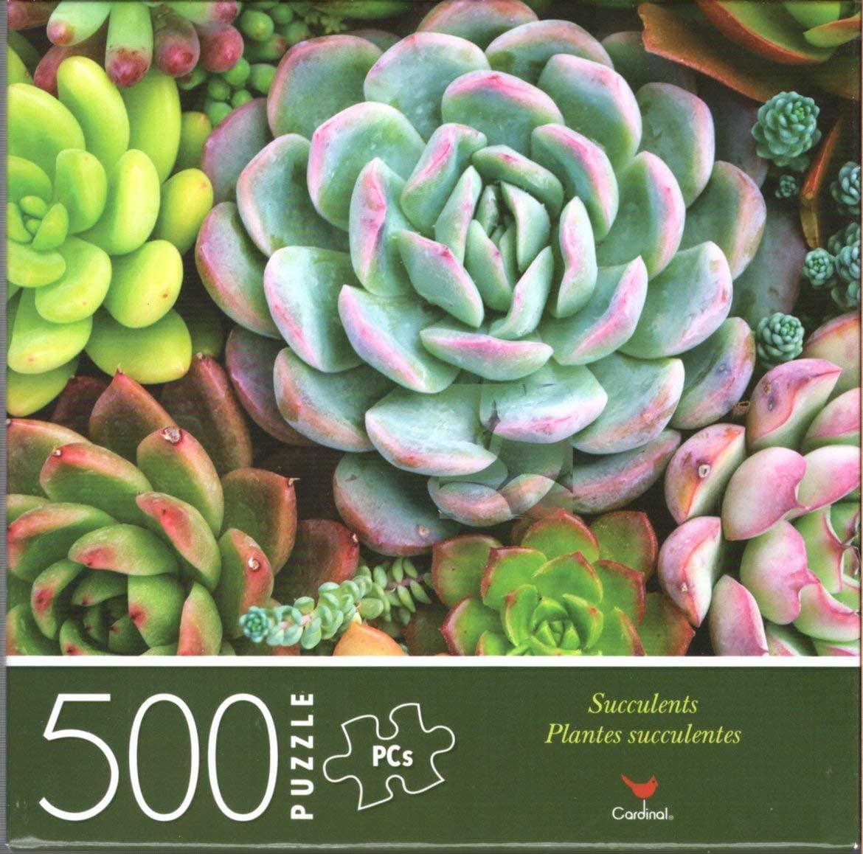 Succulents - 500 Piece Jigsaw Puzzle