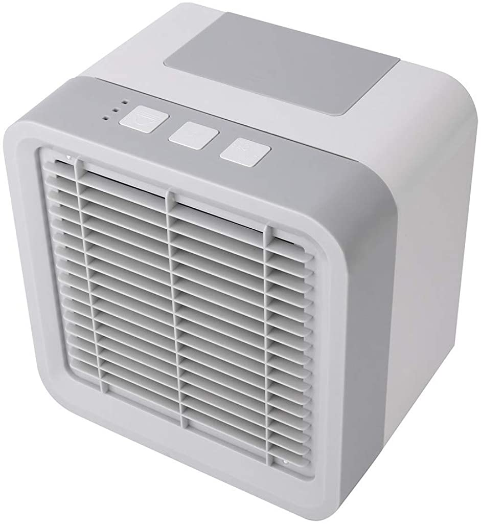 Goiwiejhg Mini Air Conditioning Conditioner Cool Fan Portable Home Office Desk Cooler 56MLAir Coolers for Room Portable White
