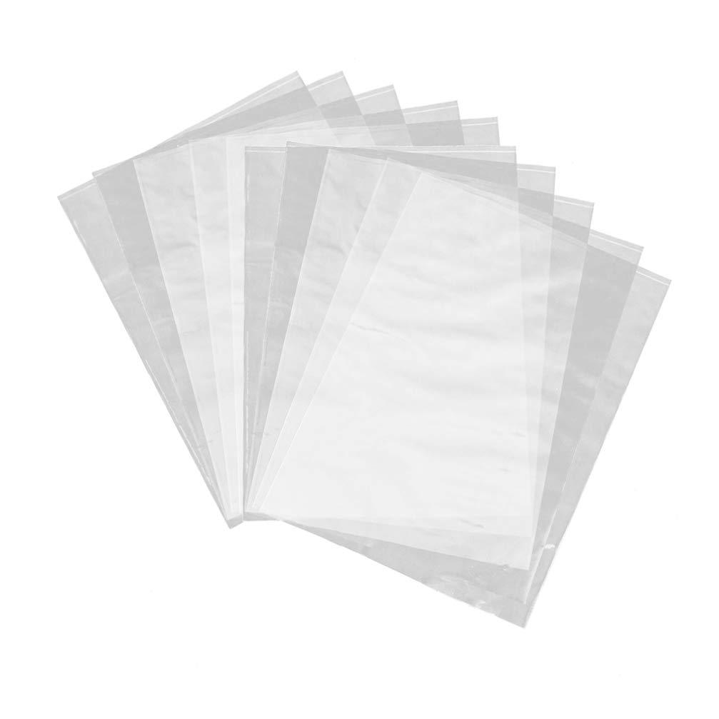 Milisten 100pcs Shrink Wrap Bag Clear Heat Shrink Wrapping Bag Shrink Film Wrap Seal Bag for Soaps Gifts Soap Bath Bomb Size 16x30cm