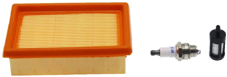 HUYUR Air Filter with Fuel Filter and Spark Plug for STIHL BR320 BR340 BR380 BR400 BR420 BR420C Backpack Blower 4203 141 0301