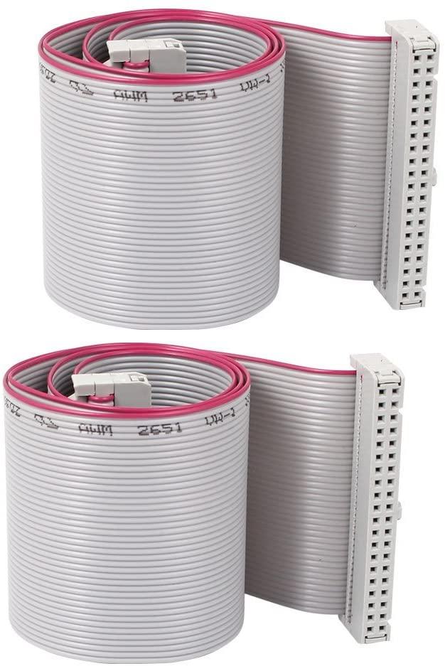 Fielect 5Pcs 3Pin Single Head Terminal Line Wire Ribbon Cable Breadboard Copper Conductor Adapter Breadboard