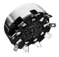 Rotary Switch, 10 Position, 10 Pole, 30 °, 15 A, 125 V, 111 Series