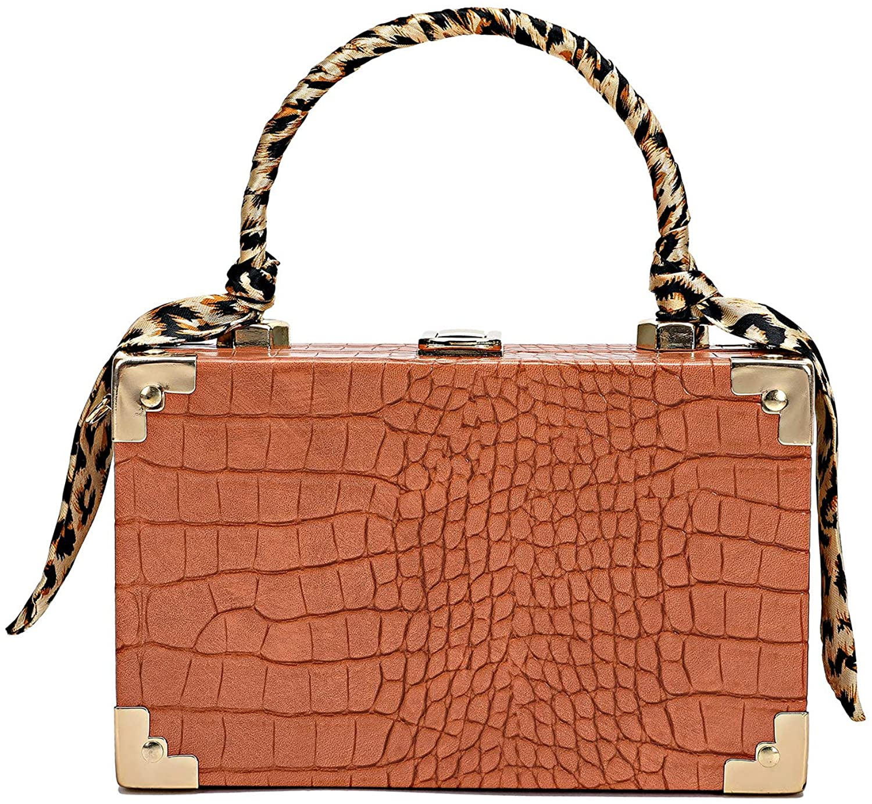 Women Evening Bag Clutch Handbag Chic Box Bag for Daily Use