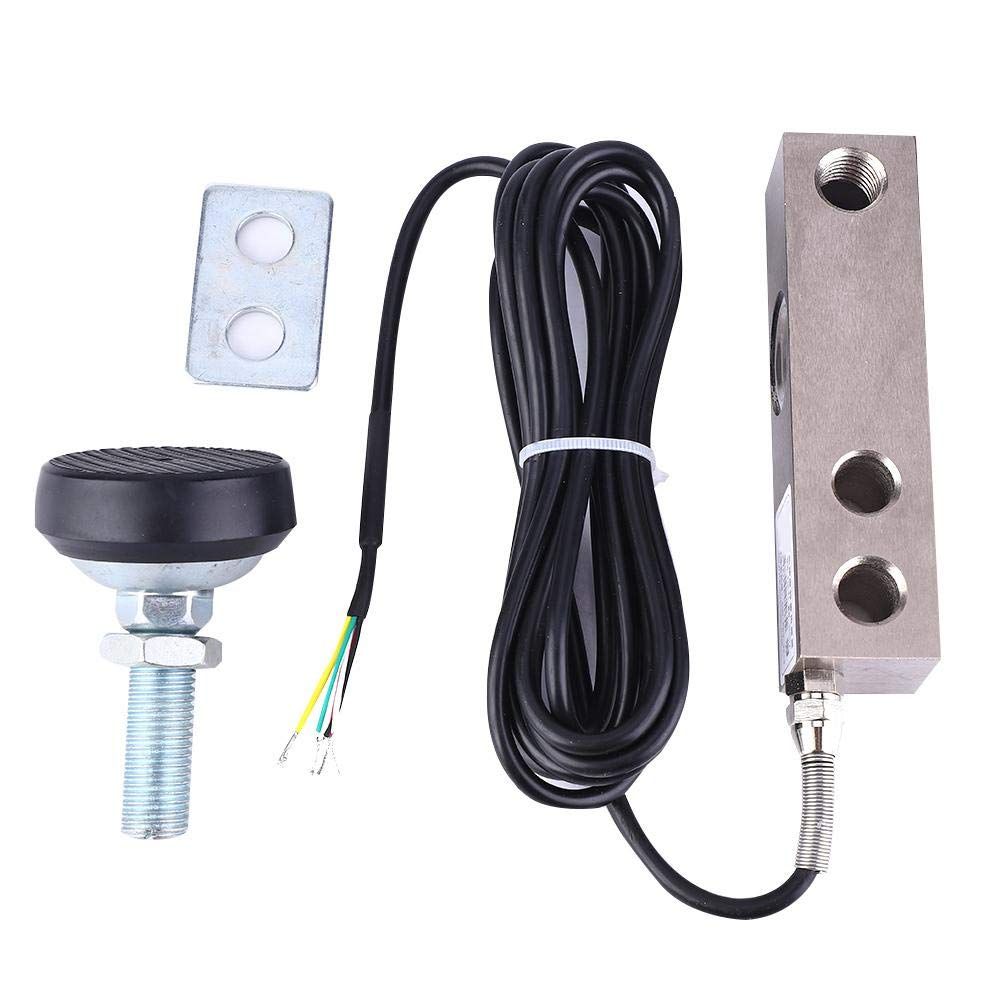 Liukouu Shear Beam Load Cell Sensor Weighing Sensor with Shielded Cable 2000KG