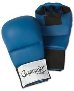 PROFORCE Gladiator Karate Sparring Gloves - Blue - Large