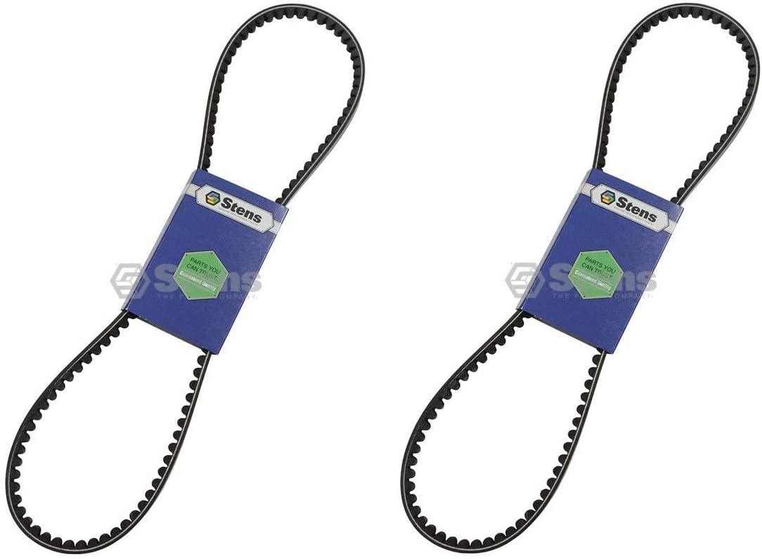 Stens 2 Pk Fan Belt Fits John Deere LVU11662 3120 3520 4300 4500 4510 4710 8400 8700