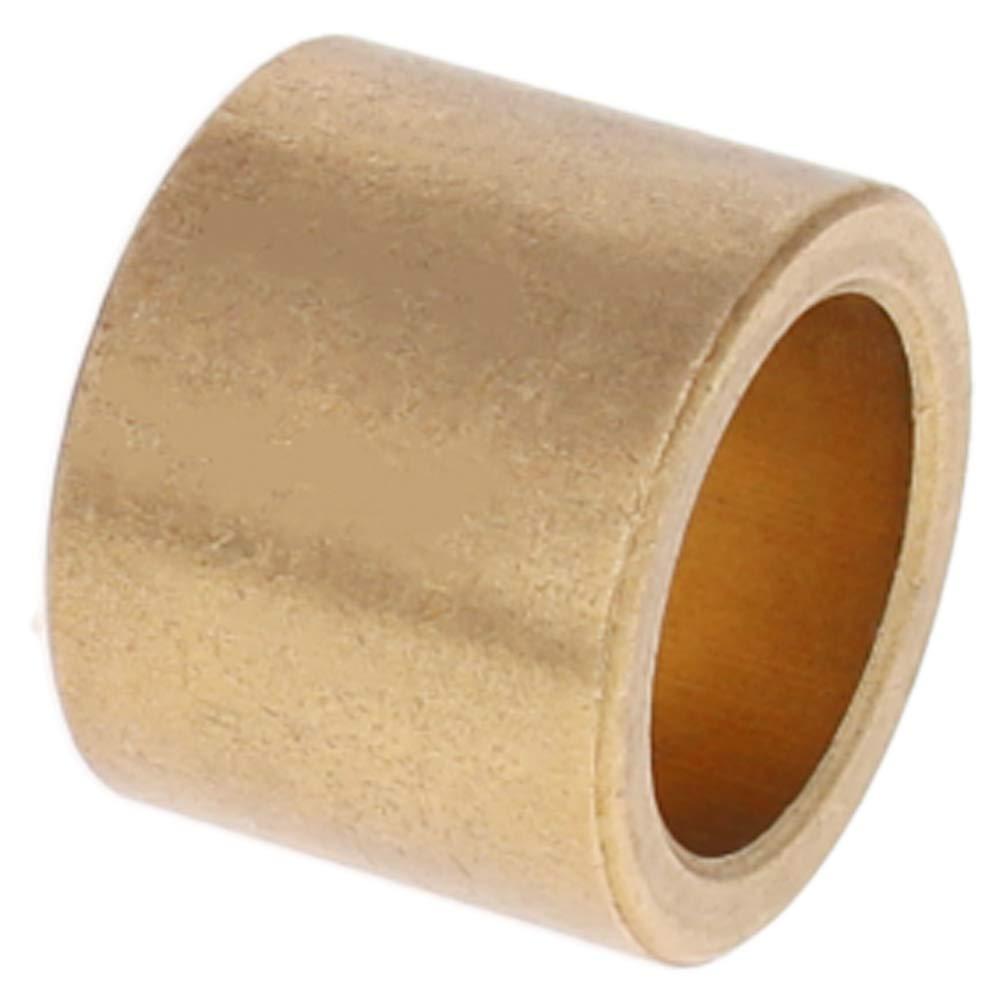 Othmro Self-Lubricating Oill Bearing Sleeve Bushings Powder-Metallurgical Tin Bronze 18mm Bore x 25mm OD x 20mm Length 1PCS