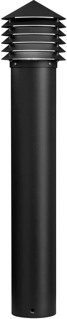 Kichler 16130BKT28 Landscape Bollard, 1 Light LED 3.57 Watts, Textured Black