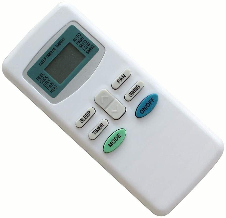 Easytry123 Remote Control for Titan GYKQ-03 Air Conditioner