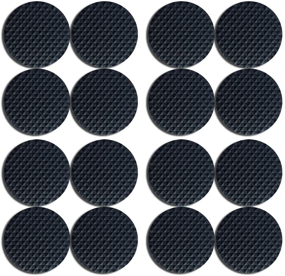 Premium Furniture Pads,Thick Non-Slip Pad Foot Cover Self-Furniture Gripper - Stops Slide - Adhesive Pads – Protectors (Round 1.5 inch 16pcs)